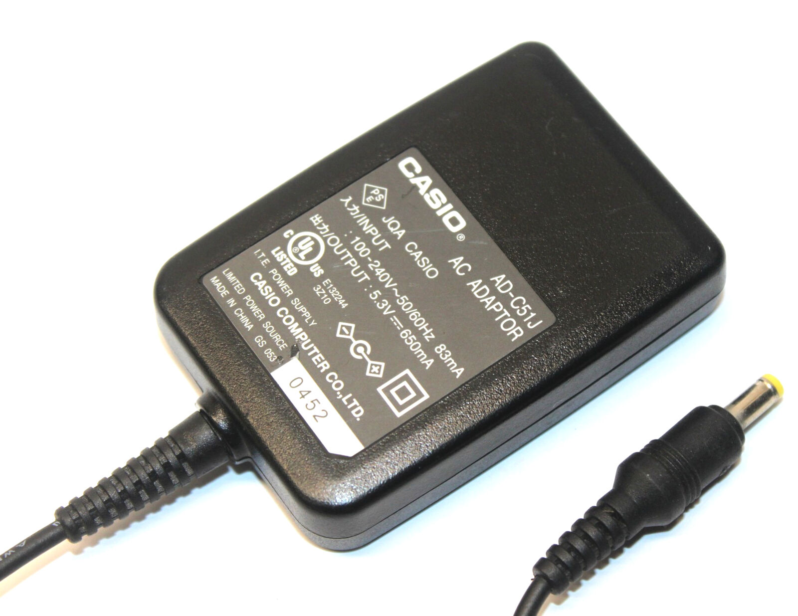 Casio AC Adapter : AC Power Adapter, AC Power Adapter by